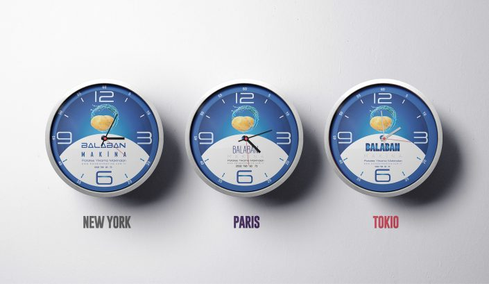 Saat Tasarımı - Balaban Makina