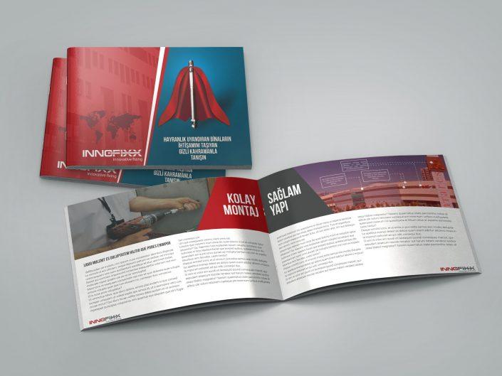 Katalog Tasarımı - Innofix